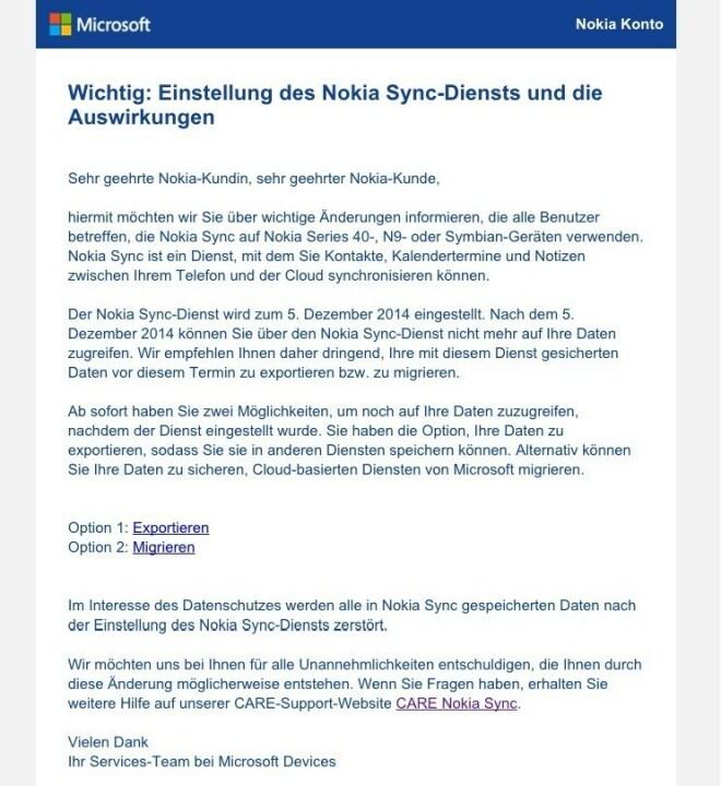 Nokia Sync
