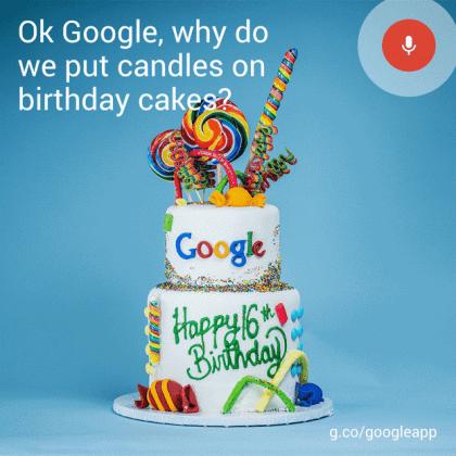 GIF zum 16. Google-Geburtstag