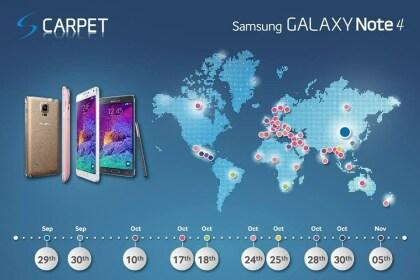 Galaxy Note 4: #gapgate und Releasetermine
