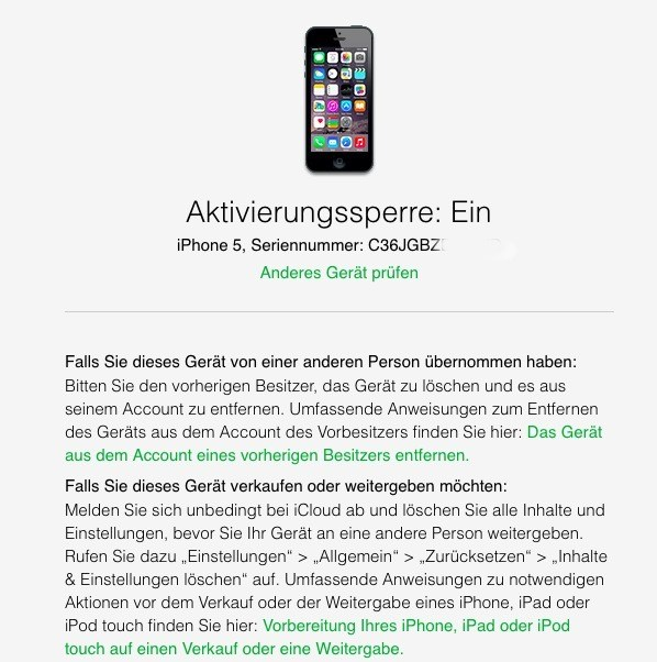 iPhone: IMEI-Check - Nummer herausfinden