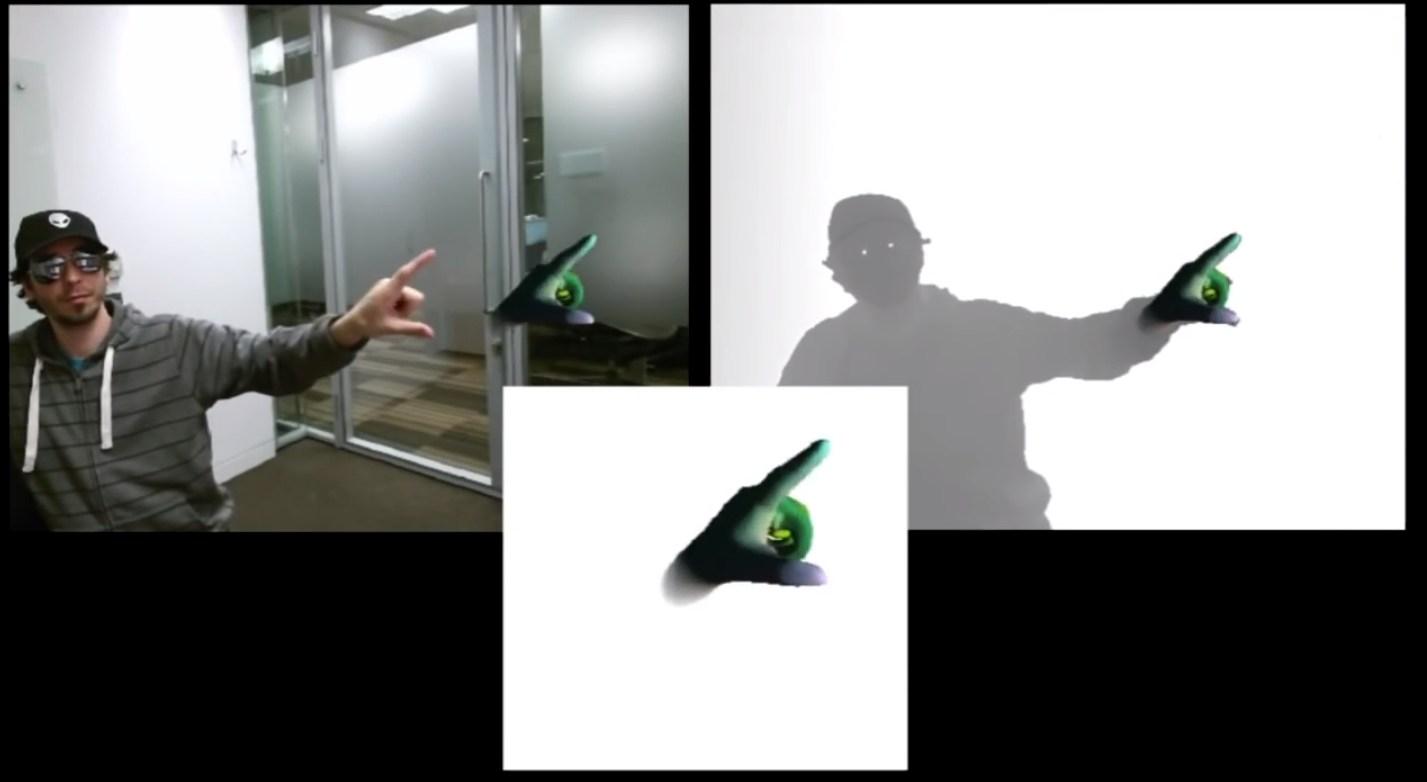 Handpose für die Kinect