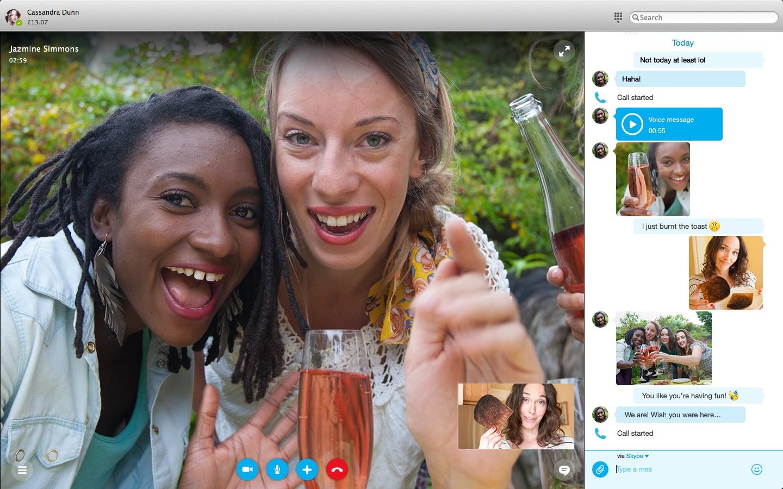 Skype für Windows & Skype für MAC 7.0