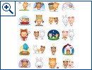 Facebook-Sticker in der �bersicht