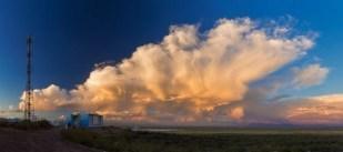 Partikel-Suche am Auger-Observatorium