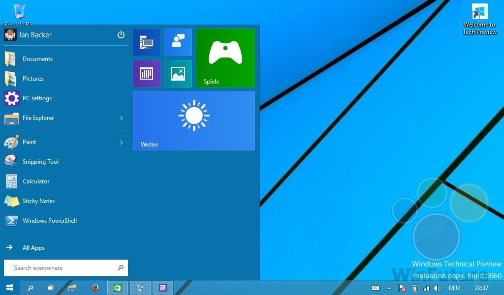 Windows 10: Mindestauflösung gesenkt - für noch billigere Tablets?