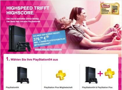 Telekom PS4-Aktion