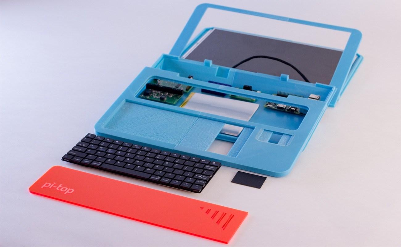 pi-top: notebook-bausatz mit raspberry pi für bastel-einsteiger