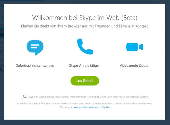 Skype for Web (Beta)