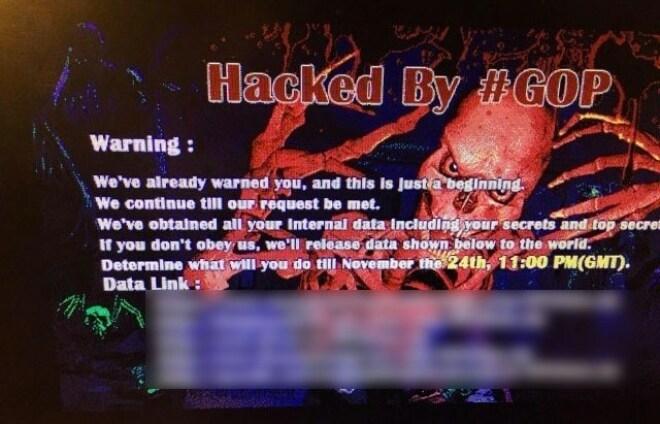 Hack auf Sony Pictures