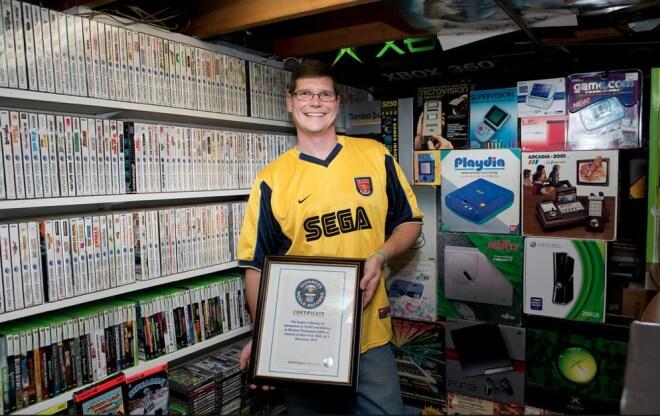 Weltweit gr��te Videospielsammlung