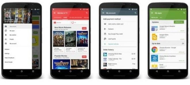 Google Play Store 5.1.11 versteckte Neuerungen