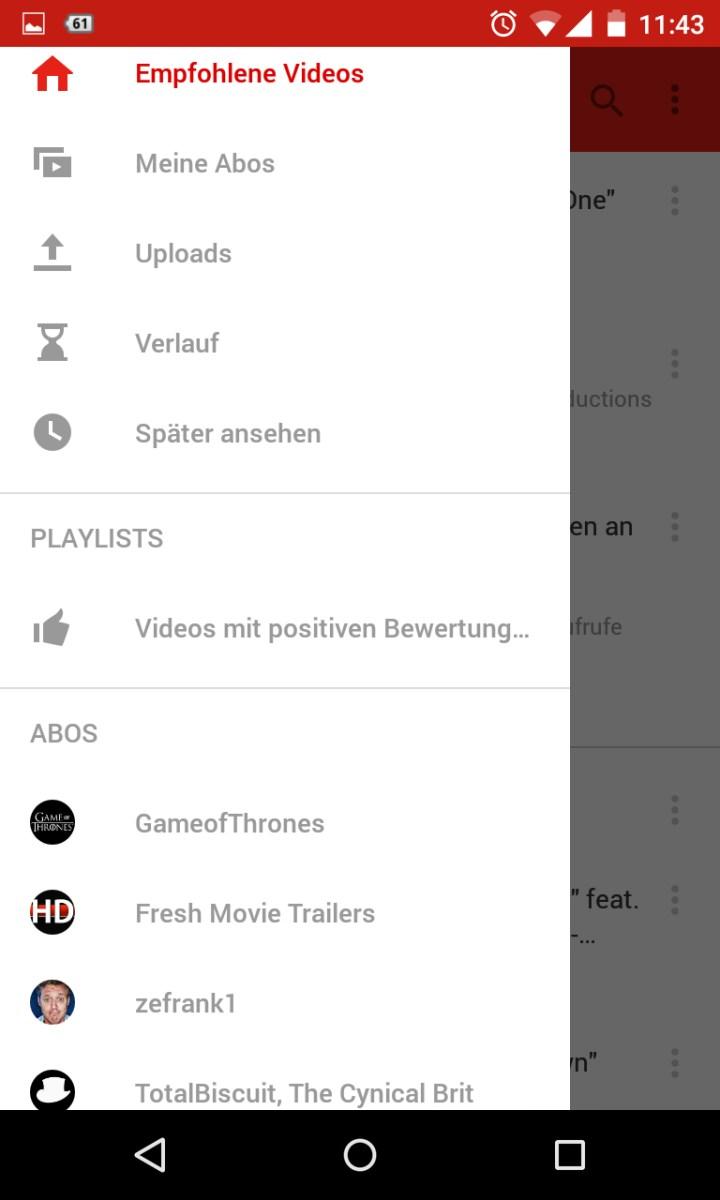 Für 60fps-Fans: YouTube nun auch mobil mit hoher Bildrate nutzbar ...