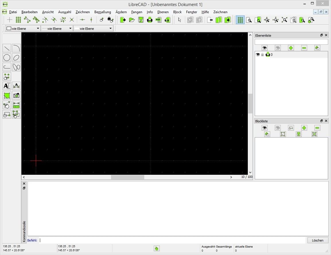 LibreCAD - Freeware für 2D-CAD-Zeichnungen Download