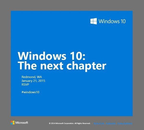 Windows 10: Consumer-Vorschau-Event am 21. Januar - mit Webcast