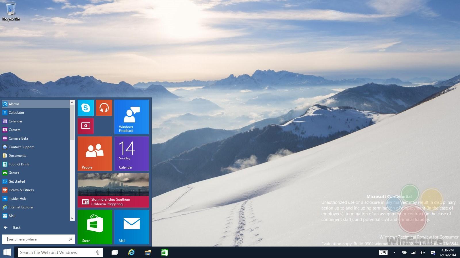 Windows 10: Entwickler sehen geleakte Builds eher entspannt
