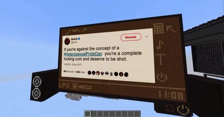 Nutzer Schafft MinecraftRechner Einziger Zweck Blocken Von Notch - Minecraft namen fruher andern