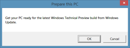 Prepare Windows 8.1/7 for Windows Consumer Preview