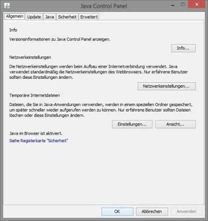 Java Runtime Environment 8