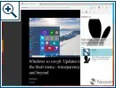Microsofts neuer Browser Edge (Project Spartan)