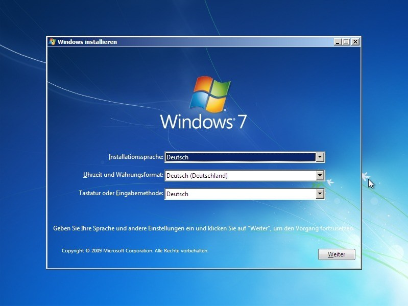 Windows 7 Home Premium mit Service Pack 1 - ISO-Datei Download
