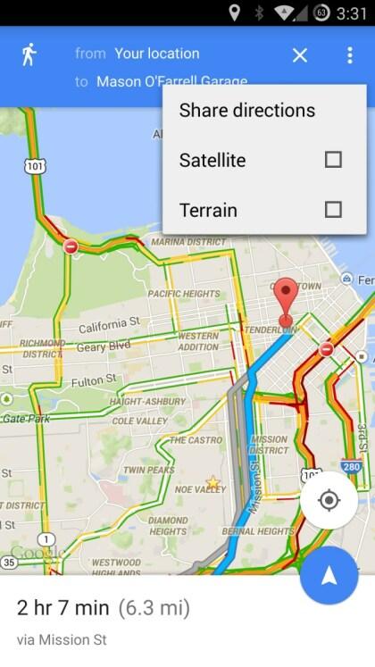 Google Maps 9.3