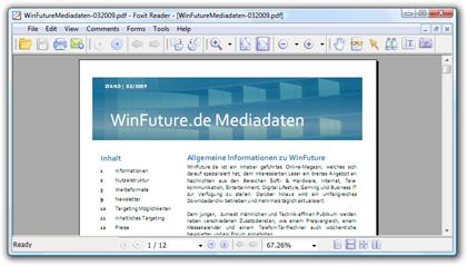 PDF-Reader Foxit Reader
