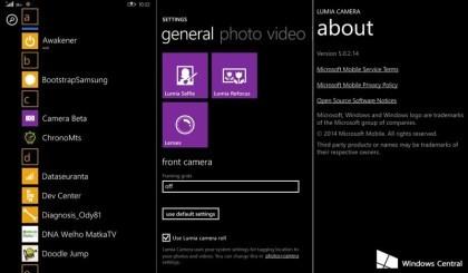 Windows 10 dürfte Lumia Camera-App für alle Geräte bringen