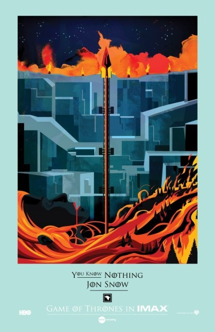 Game of Thrones: IMAX-Poster