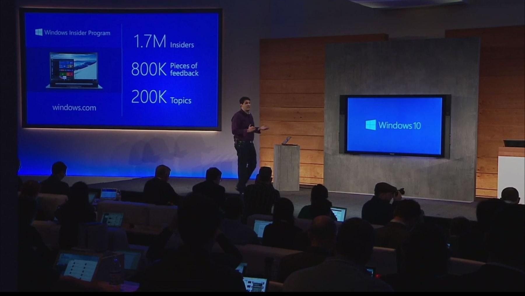 Nach Windows 10-Event meldeten sich 173.624 neue Insider an