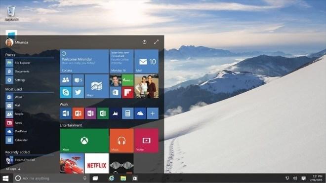 Windows 10: Neue Desktop-Features - Action-Center & Startscreen
