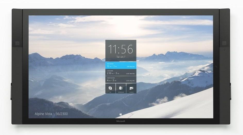 Surface Hub ab sofort vorbestellbar, ist nicht gerade ein Schnäppchen