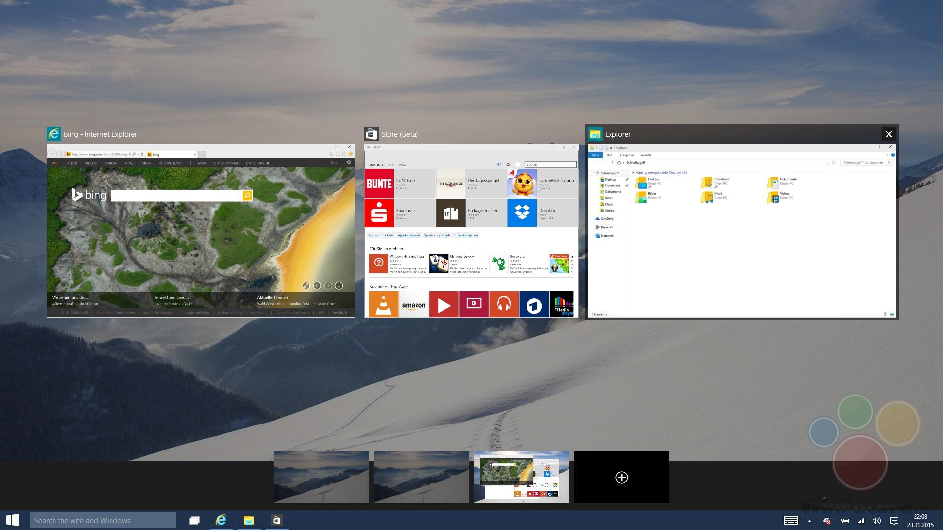 Windows 10 Build 9926