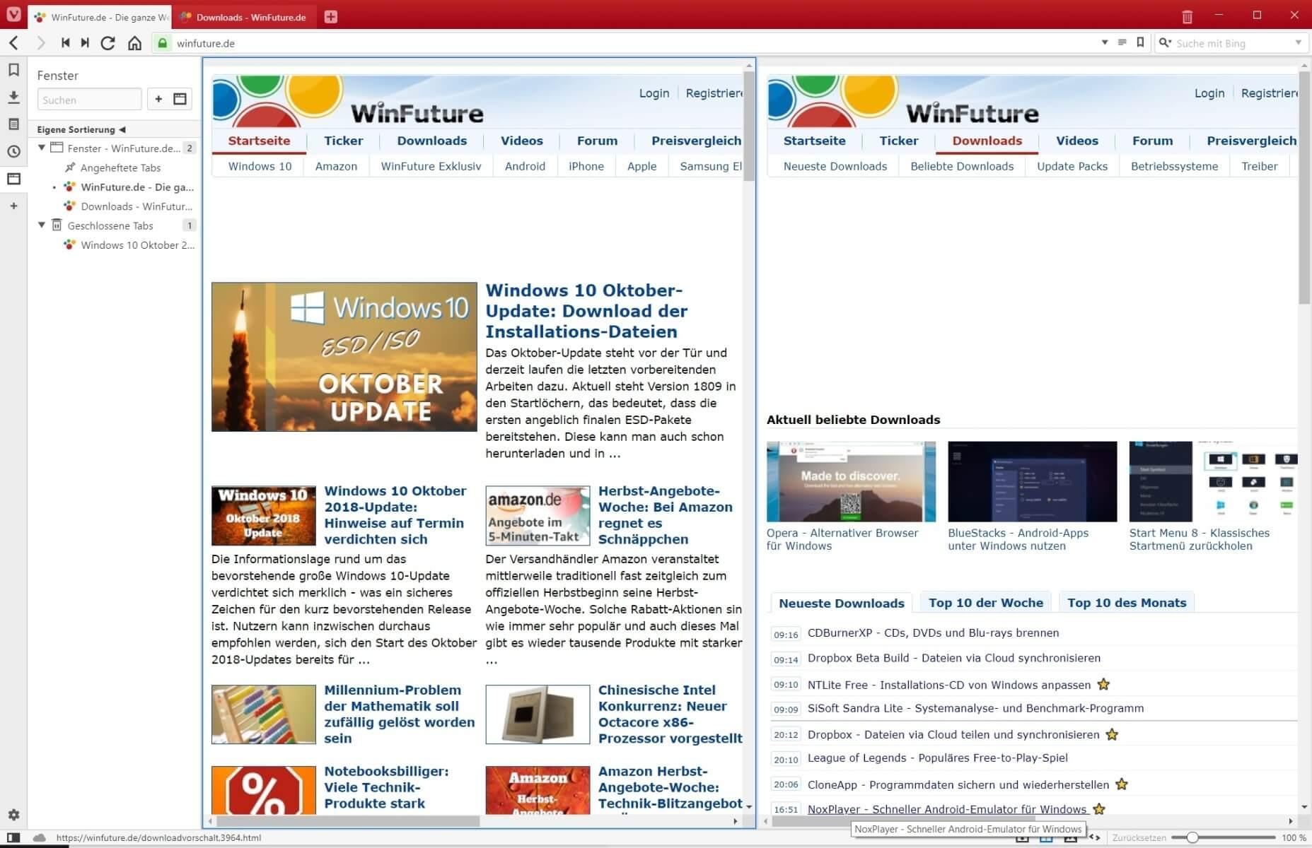 Vivaldi: Neuer Browser