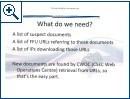 Pr�sentation des CSE zur File-Hoster-�berwachung