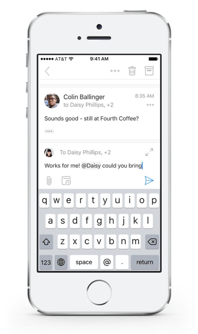 Outlook für iOS und Android