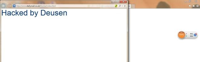 Fehler im Internet Explorer 11 (Deusen)