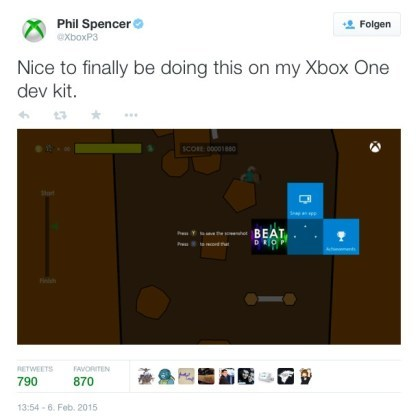 Xbox One: Screenshot