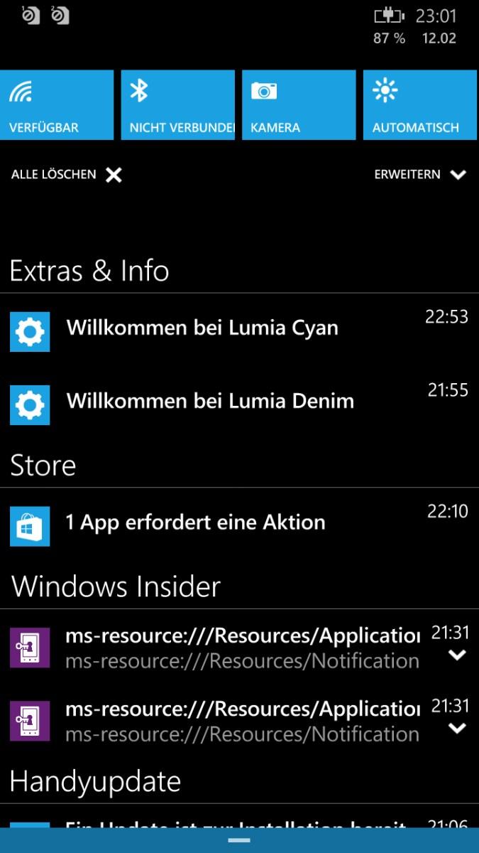 """Windows Phone 8: """"Räume""""-Gruppenchat wird ab März eingestellt"""