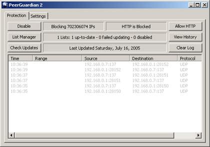 Peerguardian 2 Windows 7 X64