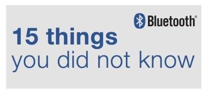 15 Fakten über Bluetooth