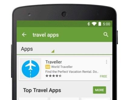 Werbung im Google Play Store