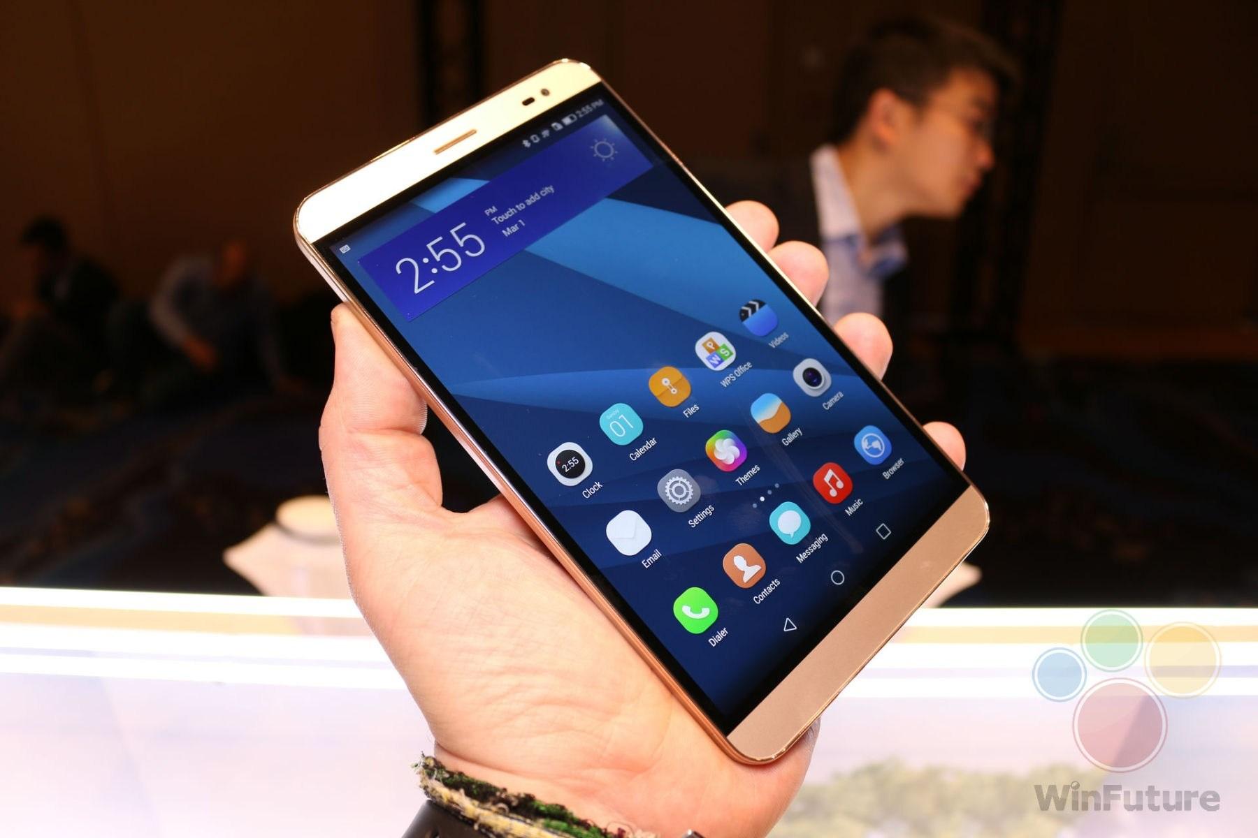 Huawei MediaPad X2: Edles & hochwertiges 7-Zoll-Tablet im
