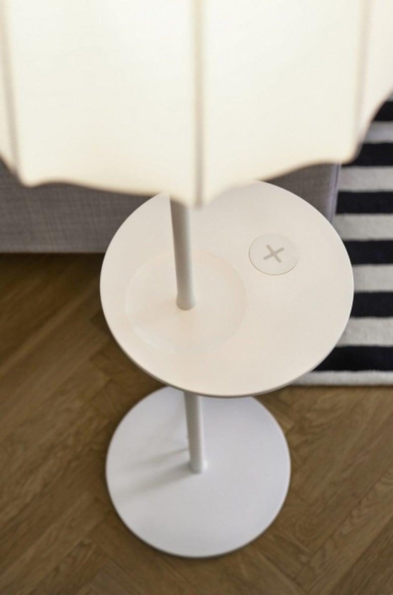 IKEA bringt Möbel mit eingebauten kabellosen Qi Ladestationen