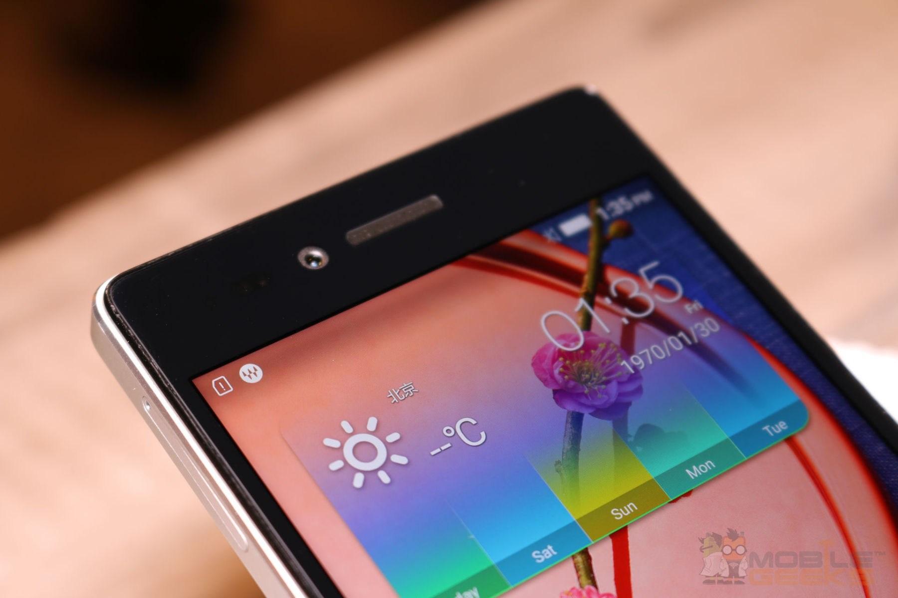 Lenovo Vibe Shot Gut Gerstetes Smartphone Mit Kamera Fokus Grey