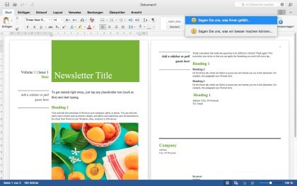 Office for Mac 2015 Preview