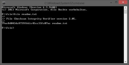 Microsoft File Checksum Integrity Verifier