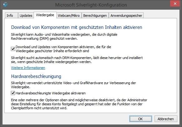Microsoft Silverlight - Browser-Plug-in für Multimedia-Inhalte Download
