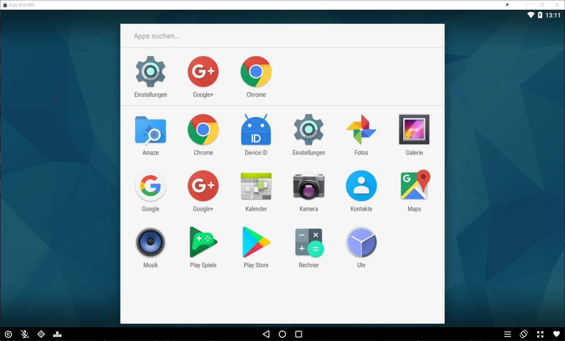 andy android emulator download for windows 8