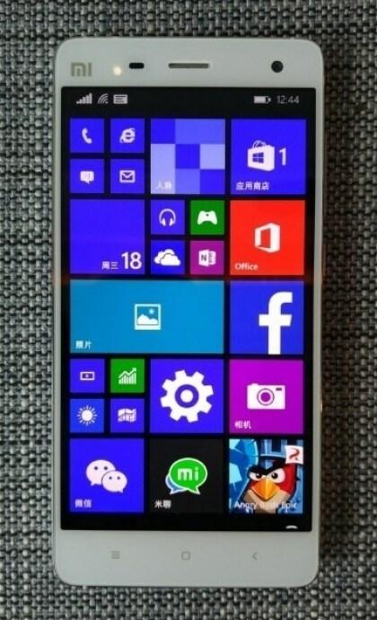 Xiaomi Mi4 mit Windows 10