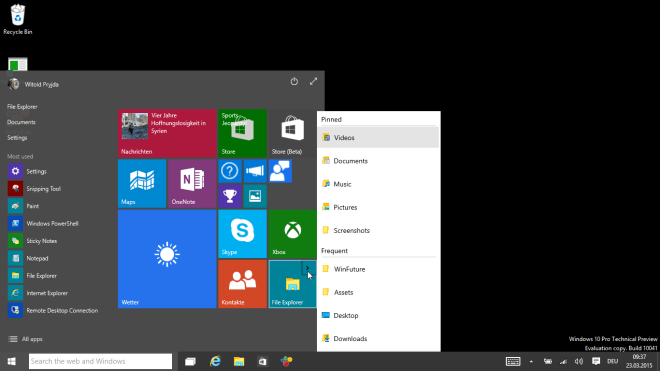 Windows 10 Preview (Build 10041)